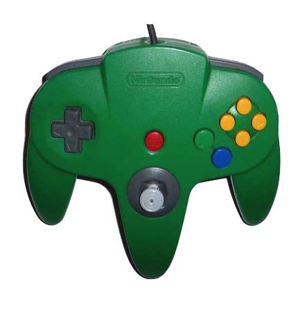 Nintendo 64 Handkontroll Grön/Green beg