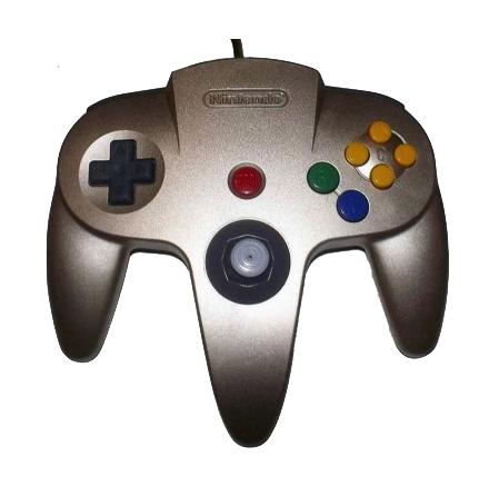 Nintendo 64 Handkontroll Guld/Gold beg