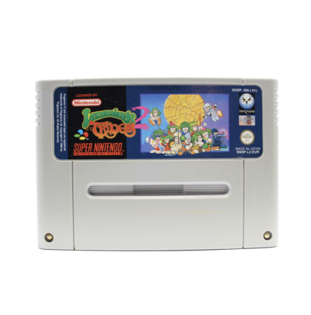 Lemmings 2: The Tribes (Super Scope option)