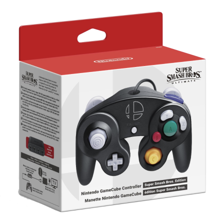 Nintendo Gamecube Controller Super Smash Bros. Edition NEW