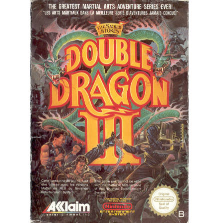 Double Dragon III The Sacred Stones